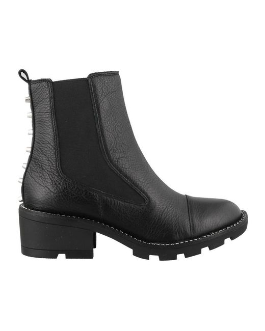 Kendall + Kylie - Black Kendall + Kylie Studded Ankle Boots - Lyst
