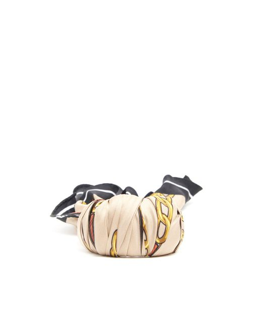 Balenciaga - Multicolor Silk Scarf Bracelet - Lyst
