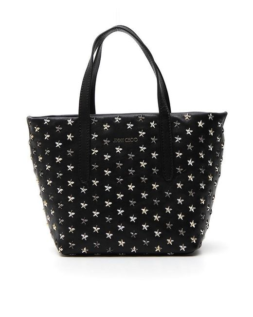 Jimmy Choo - Black Mini Sara Tote Bag - Lyst