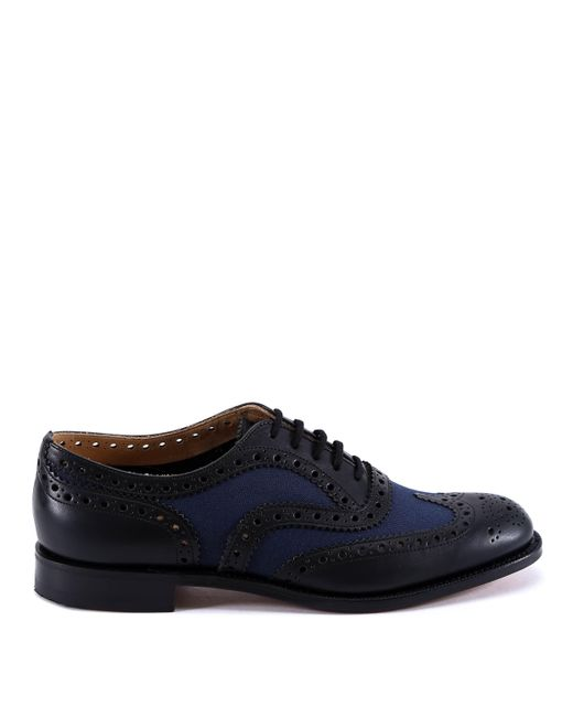 Church's - Blue Paneled Brogues for Men - Lyst