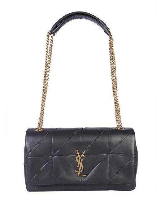 Saint Laurent - Black Jamie Medium Shoulder Bag - Lyst