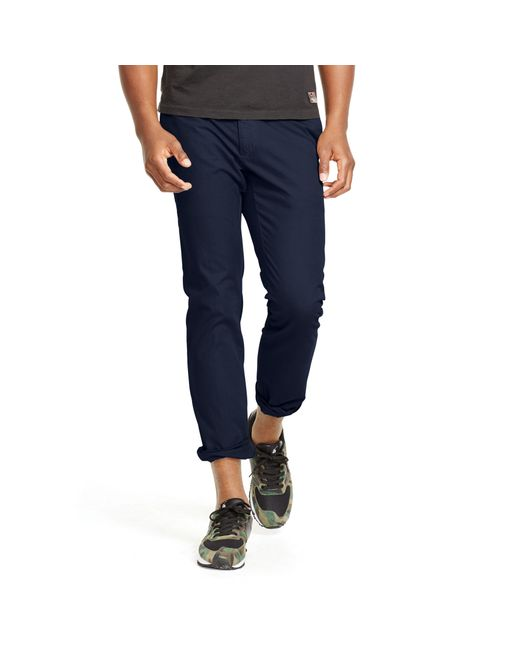 Polo Ralph Lauren | Blue Slim-fit Light Weight Chino for Men | Lyst