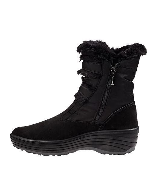 Pajar   Black Iceburg Faux Fur Waterproof Boot   Lyst