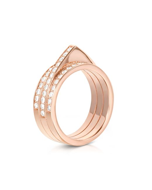 Carbon & Hyde | Pink Hourglass Ring | Lyst