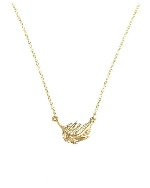 Alex Monroe | Pink Gold Plated Bumblebee Necklace | Lyst