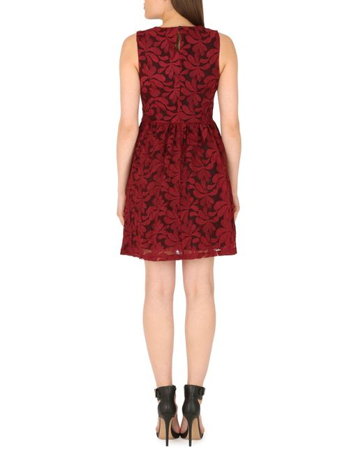 Cutie | Embroidered Floral Net Dress | Lyst