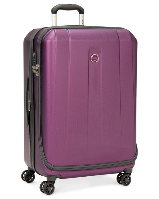 "Delsey | Purple Helium Shadow 3.0 25"" Expandable Hardside Spinner Suitcase, In Blue, A Macy's Exclusive Color for Men 
