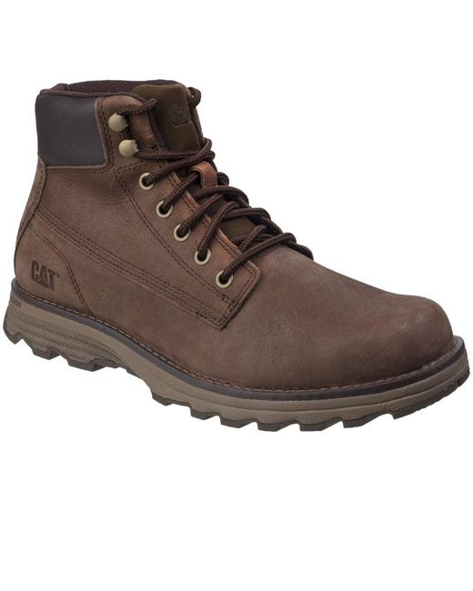 Caterpillar - Brown Intake Mens Lace-up Boot for Men - Lyst
