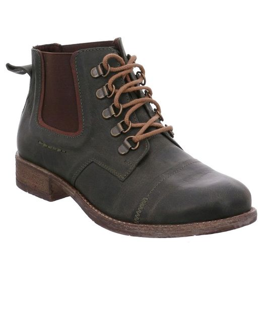 Josef Seibel - Multicolor Sienna 09 Womens Casual Hiker Chelsea Ankle Boots - Lyst