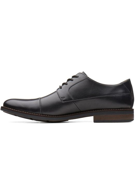 0bfd5eabbeed ... Clarks - Black Becken Cap Mens Formal Lace Up Shoes for Men - Lyst ...