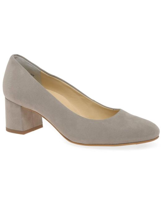 Paul Green | Gray Soothe Womens Dress Court Shoes | Lyst