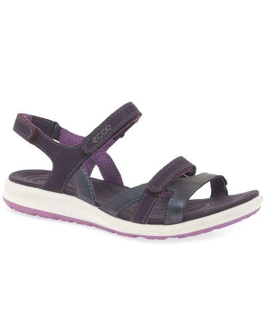 Ecco - Purple Cruise Ii Womens Sandals - Lyst