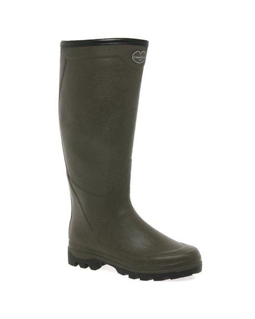 Le Chameau - Green Country Jersey Xl Mens Wellingtons for Men - Lyst