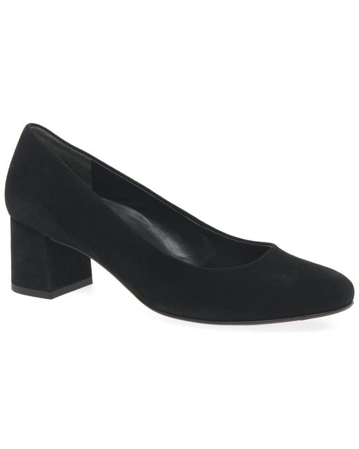Paul Green | Black Soothe Womens Dress Court Shoes | Lyst