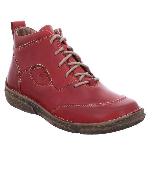 Josef Seibel - Red Neele 34 Womens Ankle Boots - Lyst