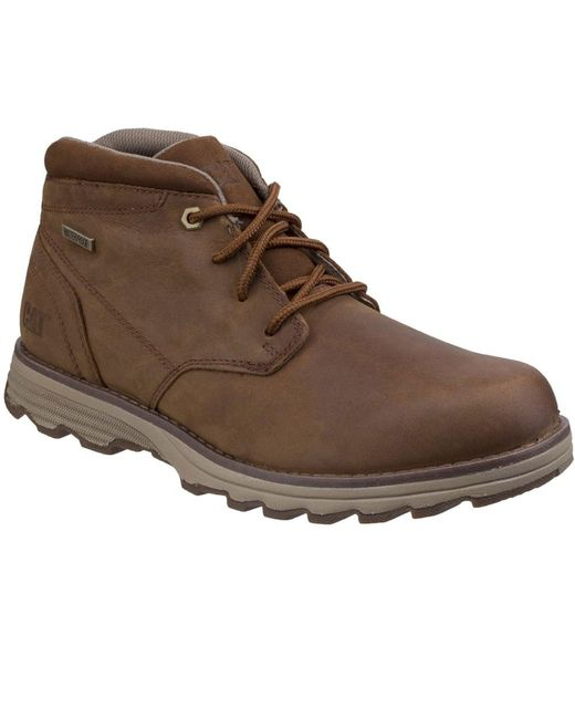Caterpillar - Brown Elude Waterproof Mens Lace-up Boot for Men - Lyst
