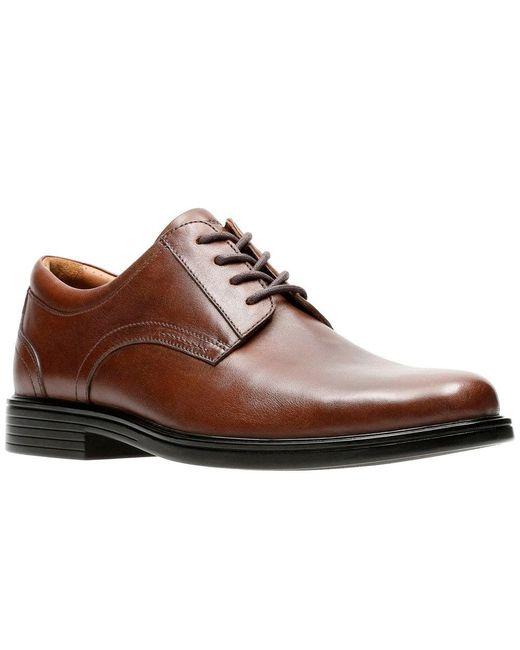 60aeadb12f1 Clarks - Brown Un Aldric Park Mens Wide Fit Oxford Shoes for Men - Lyst ...
