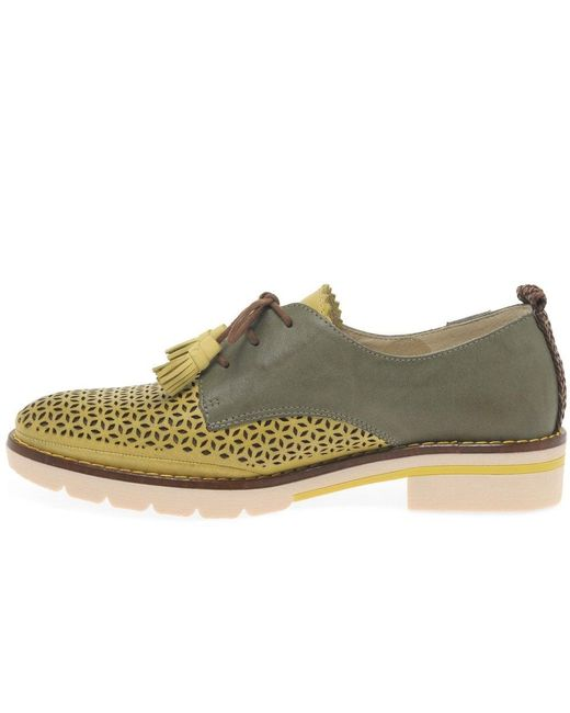 9d85186808c95 ... Pikolinos - Multicolor Catalan Womens Punched Detail Shoes - Lyst ...