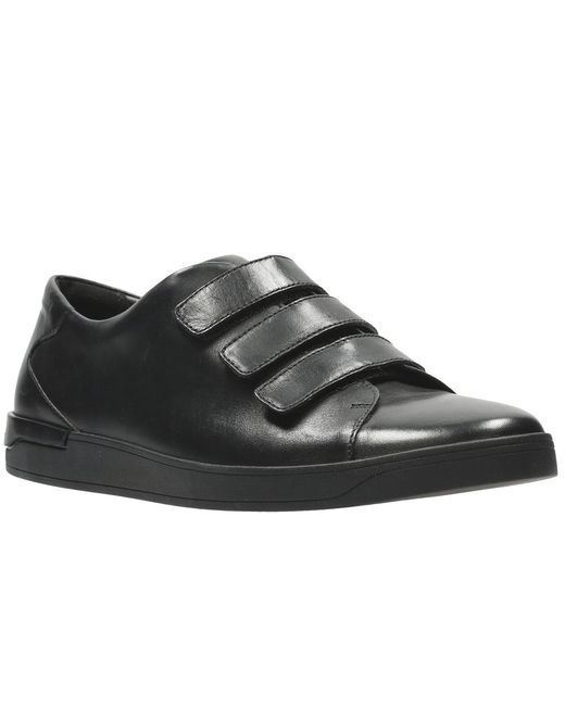 Clarks | Black Stanway Flow Mens Casual Shoes for Men | Lyst