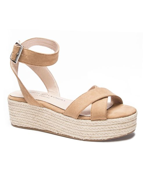00a4e9a5948 Chinese Laundry - Multicolor Zala Wedge Sandal - Lyst ...