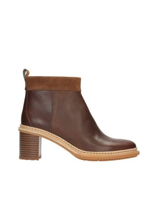 Clarks | Brown Trace Shine | Lyst
