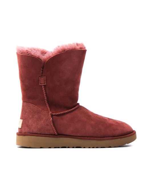 Ugg | Red Classic Cuff Short Boots | Lyst