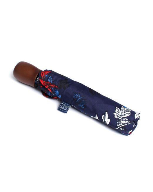 Joules   Blue Floral Print Umbrella   Lyst