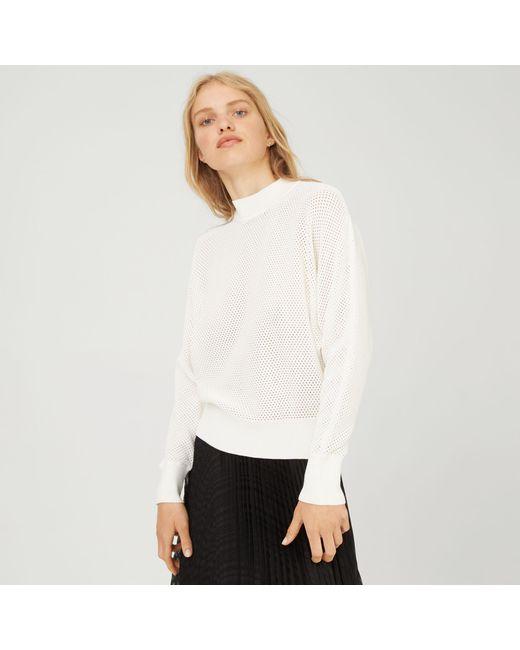 Club Monaco - White Eileeney Sweater - Lyst