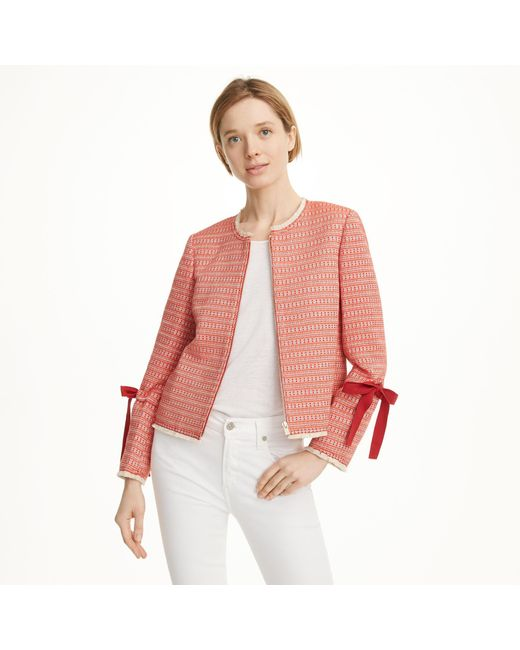 Club Monaco | Red Parelle Jacket | Lyst
