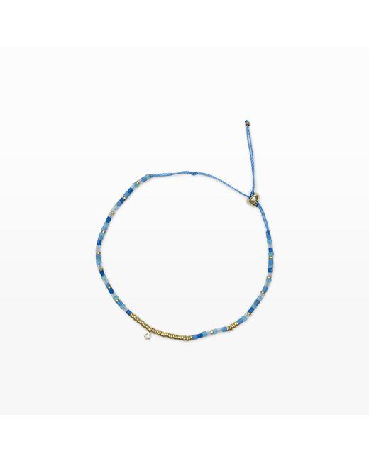 Club Monaco   Blue Mini Beads Bracelet   Lyst