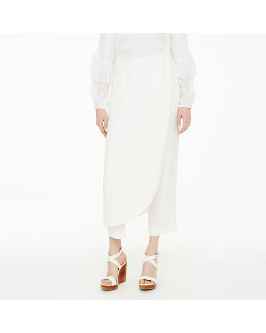 Club Monaco | White Willough Pant | Lyst