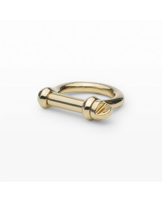Miansai - Metallic Screw Ring - Lyst