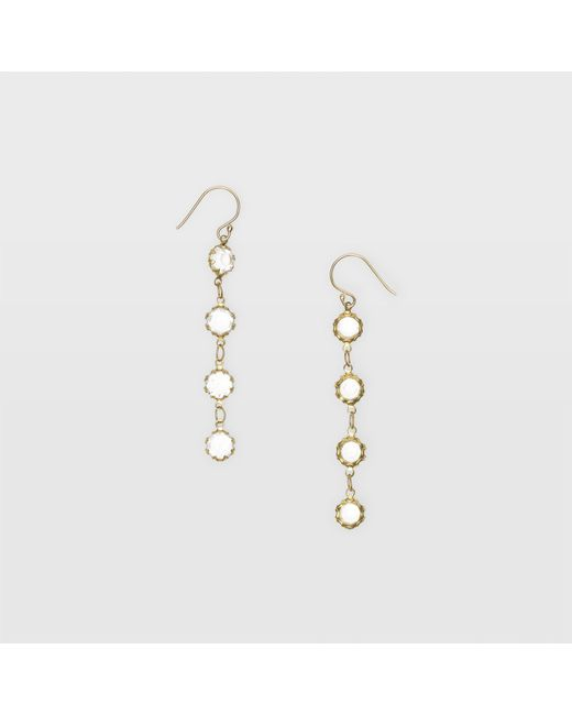 Club Monaco | Multicolor Crystal Drop Earring | Lyst