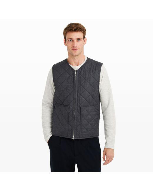 Club Monaco   Gray Hacking Vest for Men   Lyst