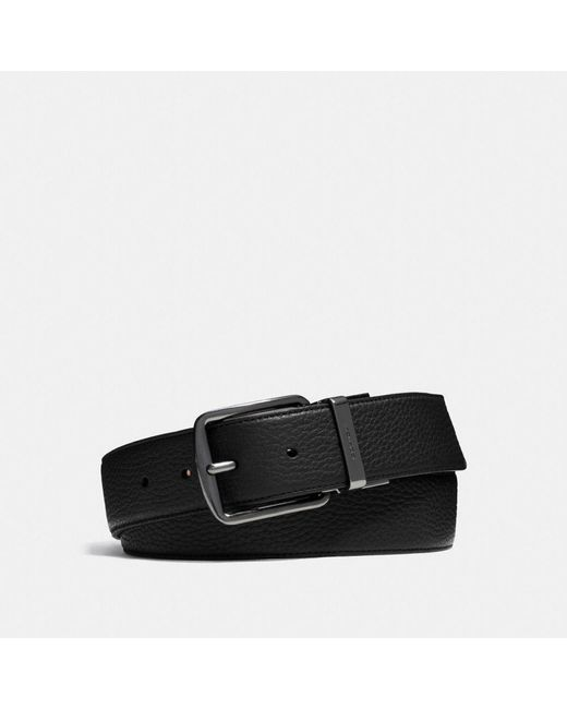 COACH - Brown Wide Cut-to-size Reversible Leather Belt for Men - Lyst