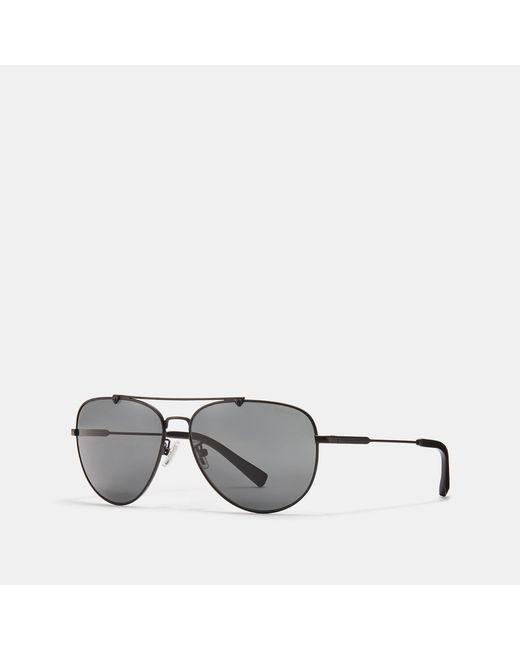 ae1d093d09d5 COACH - Multicolor Wire Frame Pilot Sunglasses for Men - Lyst