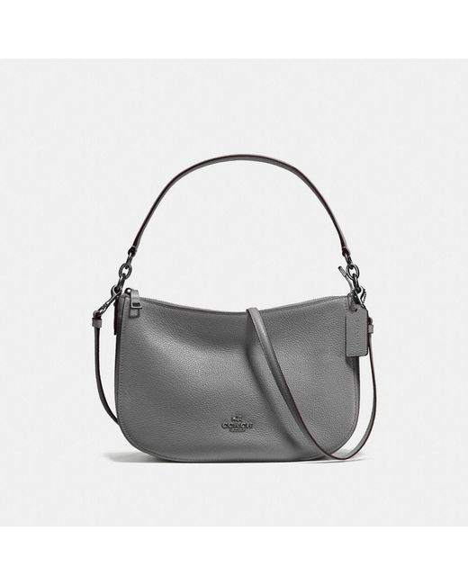 COACH - Multicolor Chelsea Pebble Leather Across Body Bag - Lyst