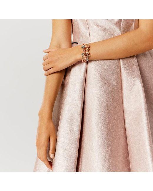 Coast | Multicolor Freya Floral Cuff Bracelet | Lyst