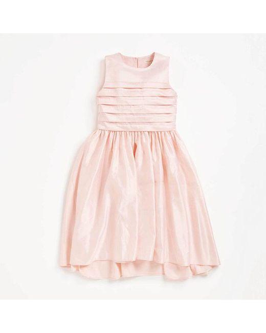 Coast Grace Pintuck Bodice Dress Affordable Sale Online NMJZpF