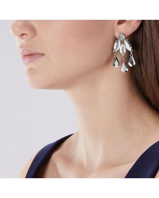 Coast - Metallic Farah Statement Earrings - Lyst