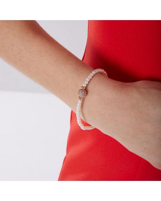 Coast - Multicolor Rita Pearl Bracelet - Lyst