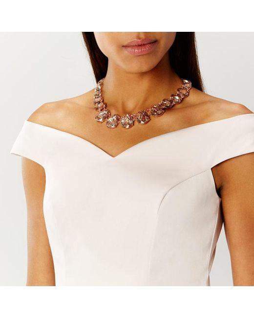 Coast | Metallic Rodez Sparkle Necklace | Lyst