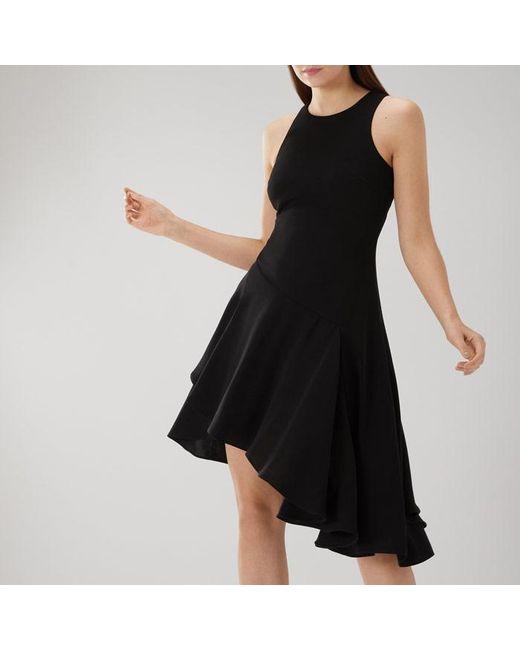 Coast - Black Kate Soft Asymmetric Dress - Lyst