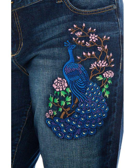 5cf166b6edd ... Slink Jeans - Blue The Easy Rolled Boyfriend - Lyst ...