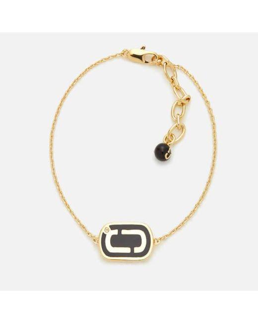 Marc Jacobs - Black Women's Icon Enamel Bracelet - Lyst