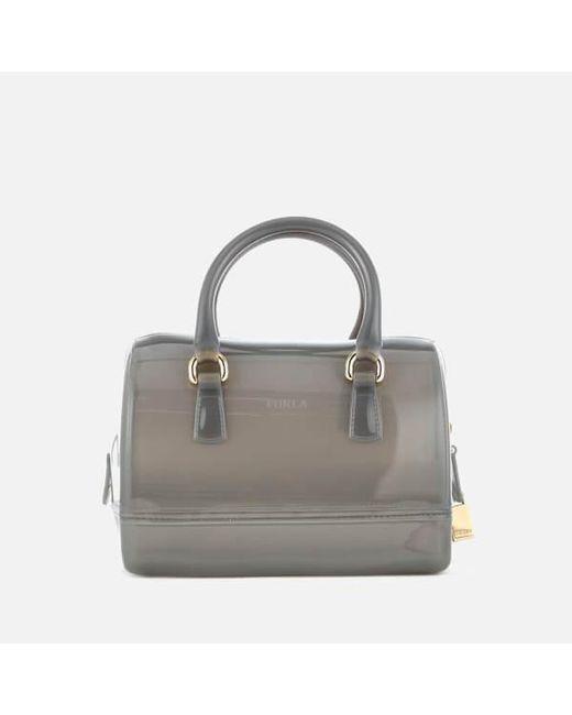 Furla | Gray Women's Candy Cookie Satchel Bag | Lyst