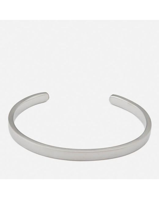 Miansai - Black Men's Singular Cuff Bracelet for Men - Lyst
