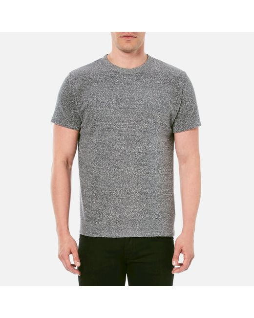 Our Legacy   Gray Men's Loop Light Sweat Perfect Tshirt for Men   Lyst