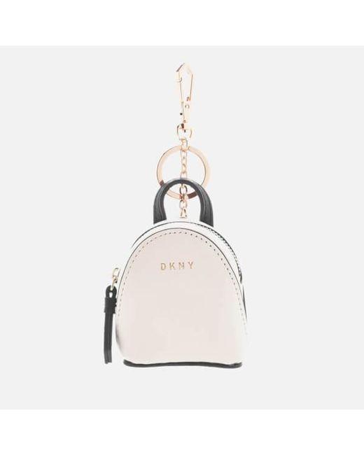DKNY | Multicolor Women's Mini Backpack Bag Charm | Lyst