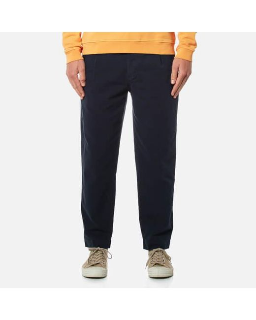 Folk | Blue Men's Relaxed Fit Trousers for Men | Lyst